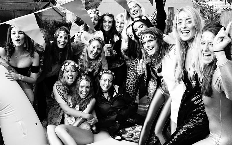 Hen party photographer earlsfield